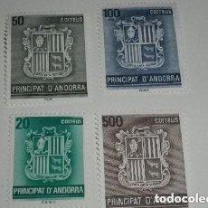 Sellos: ANDORRA EDIFIL Nº 209/12, SERIE BÁSICA: ESCUDO DE ANDORRA, NUEVO. Lote 260759765