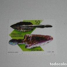 Sellos: ANDORRA - PUNTA DE LANZA - NUEVO. Lote 260759975