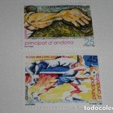 Sellos: ANDORRA EDIFIL 223/24*** - AÑO 1991 - 4º JUEGOS DEPORTIVOS DE LOS PEQUEÑOS ESTADOS DE EUROPA. Lote 260763425