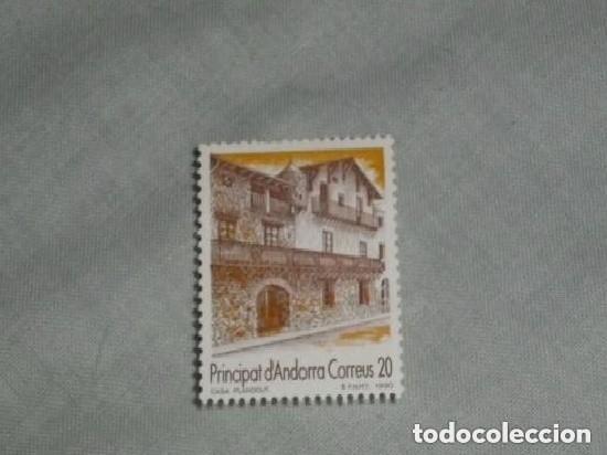 ANDORRA ESPAÑOLA 1990 221 TURISMO. CASA PLANDOUT (Sellos - España - Dependencias Postales - Andorra Española)