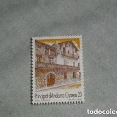 Sellos: ANDORRA ESPAÑOLA 1990 221 TURISMO. CASA PLANDOUT. Lote 260763495