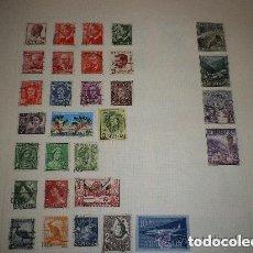 Sellos: LOTE DE 30 SELLOS DE AUSTRALIA Y ANDORRA USADOS. Lote 260764395