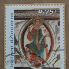 Selos: SELLO PRINCIPAT D'ANDORRA 2002. PATRIMONI ARTISTIC.. Lote 261673705