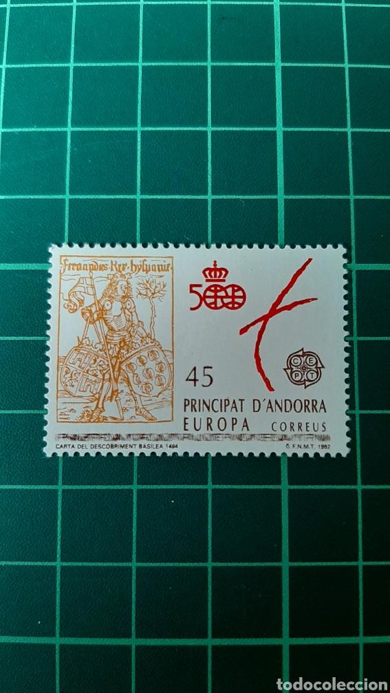 ANDORRA ESPAÑOLA EDIFIL 231 NUEVA EUROPA FILATELIA COLISEVM (Sellos - España - Dependencias Postales - Andorra Española)