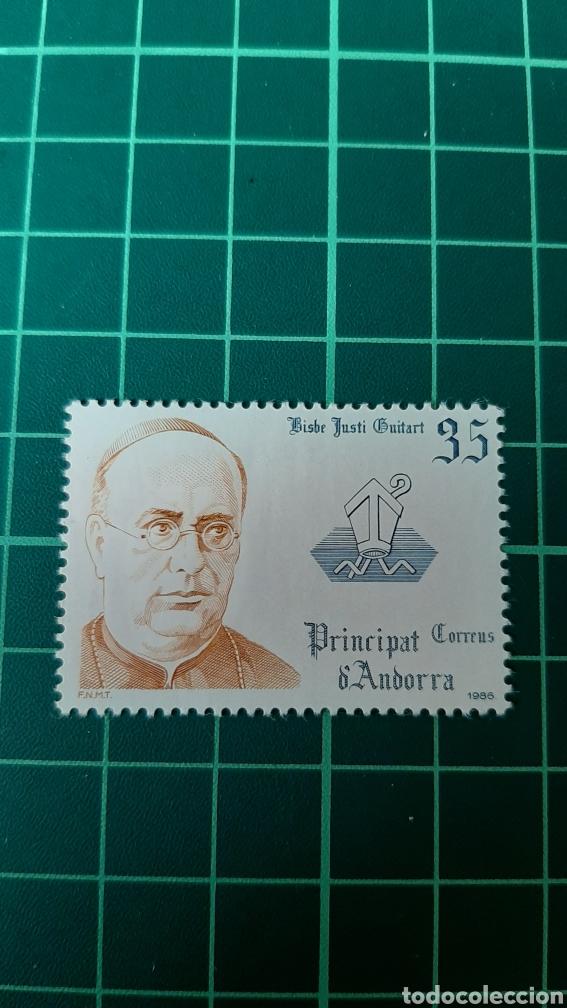 1986 ANDORRA ESPAÑOLA EDIFIL 186 NUEVA COPRINCIPES RELIGIÓN 1986 (Sellos - España - Dependencias Postales - Andorra Española)