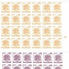 Sellos: BLOQUE DE 24 SERIES DE ANDORRA BASICA DEL 2002. Lote 267631009