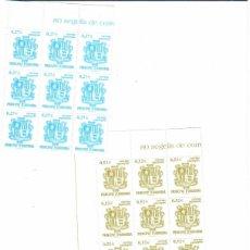 Sellos: BLOQUE DE 12 SERIES DE ANDORRA BASICA DEL 2004. Lote 267631974