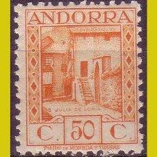 Timbres: ANDORRA 1935 PAISAJES DE ANDORRA, EDIFIL Nº 39 * *. Lote 271398868