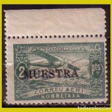 Sellos: ANDORRA 1932 MUESTRA , EDIFIL Nº NE20M * *. Lote 271411873