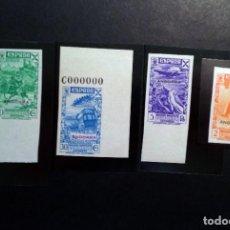 Sellos: ANDORRA ESPAÑOLA .AÑO 1938. BENEFICENCIA (Nº ** 2,3,5 Y 6 NUEVOS Y SIN DENTAR).. Lote 271865373