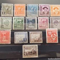 Sellos: ANDORRA SELLOS SERIE COMPLETA 1948**. Lote 276798183