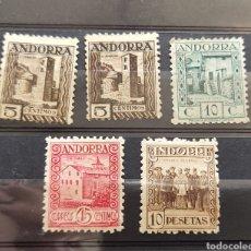 Sellos: ANDORRA SELLOS NUEVOS 10 PTAS 1929. Lote 276800468