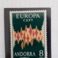 Sellos: ANDORRA EDIFIL 72 ** SERIE EUROPA 1972. Lote 277255038