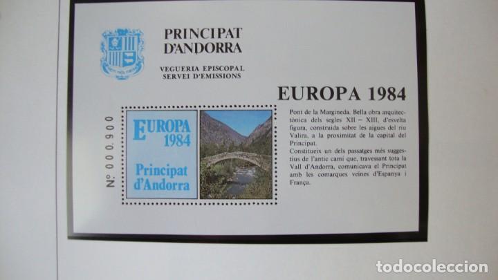 Sellos: ANDORRA HOJITAS VEGUERIA EPISCOPAL TEMA ERUROPA NUEVAS PERFECTAS - Foto 5 - 286519138