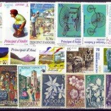 Sellos: LOTE SELLOS ANDORRA ESPAÑOLA. Lote 286560648