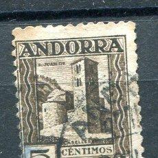 Sellos: EDIFIL 29 DE ANDORRA. 5 CTS PAISAJES, SIN NÚMERO CONTROL, USADO Y ADELGAZADO. Lote 287230778