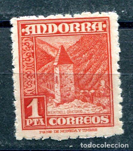 EDIFIL 54 DE ANDORRA.1 PTA PAISAJES. NUEVO SIN FIJASELLOS (Sellos - España - Dependencias Postales - Andorra Española)