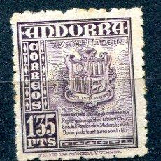 Sellos: EDIFIL 55 DE ANDORRA.1'35 PTAS PAISAJES. NUEVO SIN GOMA Y CON ÓXIDO. Lote 287234758