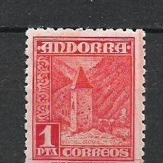 Sellos: ANDORRA 1948-53 EDIFIL 54 ** MNH - 19/10. Lote 287541048