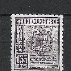 Sellos: ANDORRA 1948-53 EDIFIL 55 * MH - 19/10. Lote 287541498