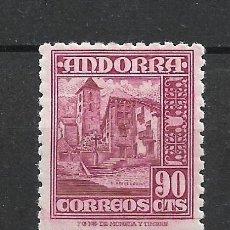 Sellos: ANDORRA 1948-53 EDIFIL 53 * MH - 19/10. Lote 287542103