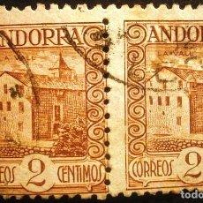 Sellos: SELLOS DE ANDORRA. CORREO ESPAÑOL. 1935-1943. Lote 287557703