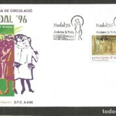 Sellos: ANDORRA SOBRE PRIMER DIA DE CIRCULACION EDIFIL NUM. 255. Lote 288537288