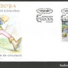 Sellos: ANDORRA SOBRE PRIMER DIA DE CIRCULACION EDIFIL NUM. 258. Lote 288537483