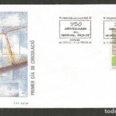 Sellos: ANDORRA SOBRE PRIMER DIA DE CIRCULACION EDIFIL NUM. 265. Lote 288537908