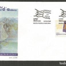 Sellos: ANDORRA SOBRE PRIMER DIA DE CIRCULACION EDIFIL NUM. 266. Lote 288537993