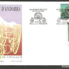 Sellos: ANDORRA SOBRE PRIMER DIA DE CIRCULACION EDIFIL NUM. 268/269. Lote 288538218