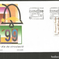Sellos: ANDORRA SOBRE PRIMER DIA DE CIRCULACION EDIFIL NUM. 274. Lote 288538528