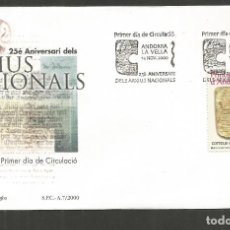 Sellos: ANDORRA SOBRE PRIMER DIA DE CIRCULACION EDIFIL NUM. 282. Lote 288538768