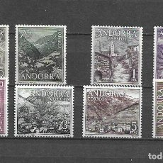 Sellos: ANDORRA, 1963-64, NUEVOS, MNH** EDIFIL 60-67. Lote 289454643