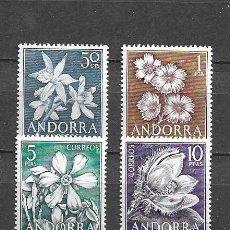 Sellos: ANDORRA, 1966, NUEVOS, MNH** EDIFIL 68-71. Lote 289455683