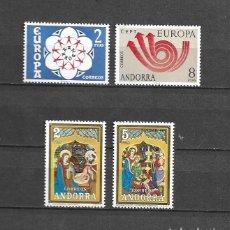 Sellos: ANDORRA, 1973, AÑO COMPLETO, NUEVOS, MNH** EDIFIL 85-88. Lote 289480383