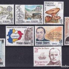 Sellos: SELLOS ESPAÑA OFERTA AÑO 1983 COMPLETO ANDORRA ESPAÑOLA EN NUEVO. Lote 292307378