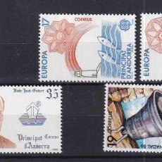 Sellos: SELLOS ESPAÑA OFERTA AÑO 1986 COMPLETO ANDORRA ESPAÑOLA EN NUEVO. Lote 292307518