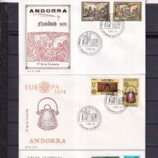 Sellos: SELLOS ESPAÑA OFERTA SPD ANDORA AÑO 1976. Lote 292309493