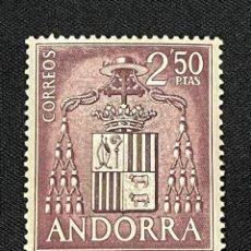 Sellos: ANDORRA, 1963-1964, TIPOS DIVERSOS, EDIFIL 64, NUEVO **. Lote 292576398