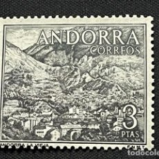 Sellos: ANDORRA, 1963-1964, TIPOS DIVERSOS, EDIFIL 65, NUEVO **. Lote 292576563