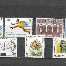 Sellos: ANDORRA, 1984, NUEVOS, MNH** , EDIFIL 176-181 Y 183. Lote 293599108