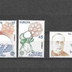 Sellos: ANDORRA, 1986, NUEVOS, MNH** , EDIFIL 190-194, COMPLETO. Lote 293677093
