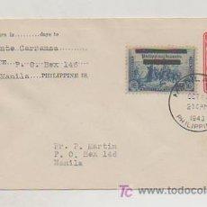 Sellos: FILIPINAS. SOBRE CIRCULADO. MANILA. 1943. . Lote 18453922