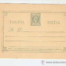 Sellos: FILPINAS - 1898 ALFONSO XLLL TIPO PELÓN 1 C. - NUEVO. Lote 27137690