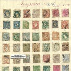 Sellos: (SE-46)LOTE DE SELLOS DE ESPAÑA COLONIAS. Lote 22805922