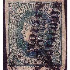 Sellos: FILIPINAS 1869 ISABEL II HPN, EDIFIL Nº 20N (O). Lote 23847431