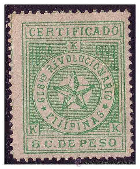 FILIPINAS GOBIERNO REVOLUCIONARIO 1898, EDIFIL Nº 3 * (Sellos - España - Dependencias Postales - Filipinas)