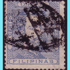 Sellos: FILIPINAS 1872 AMADEO I, EDIFIL Nº 26 (O). Lote 27467074