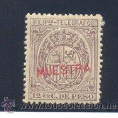 "Sellos: FILIPINAS. EDIFIL TL 41M ""MUESTRA"". Lote 27887282"